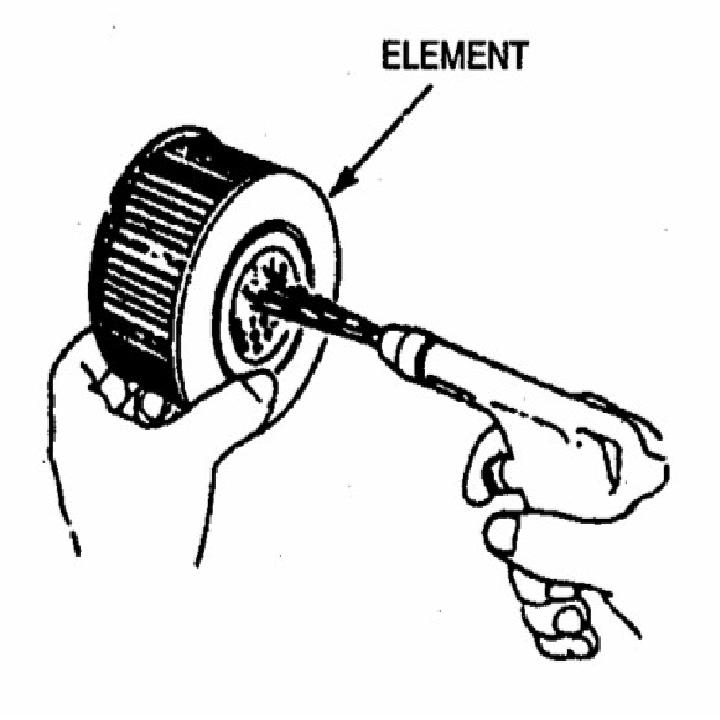 cara membersihkan saringan udara