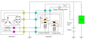 rangkaian sistem pengisian