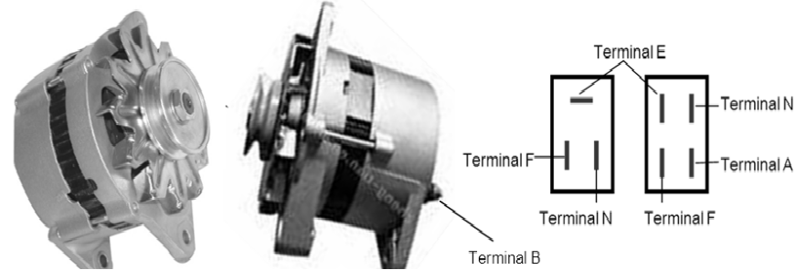 terminal alternator