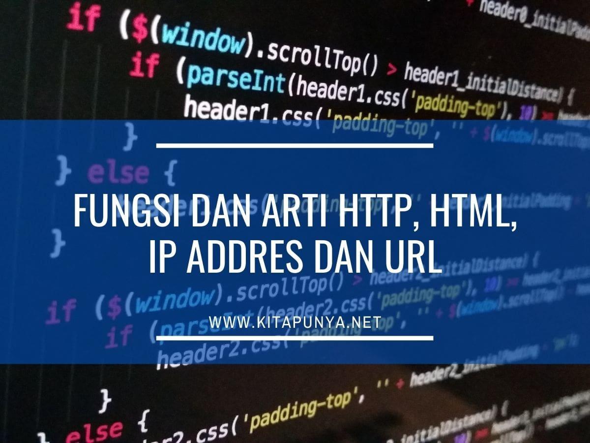 fungsi html http