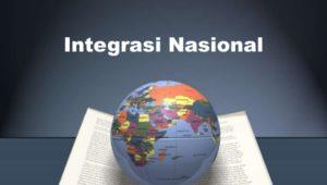 integrasi nasional