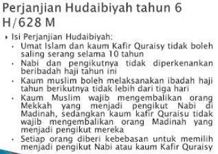 perjanjian hudaibiyah
