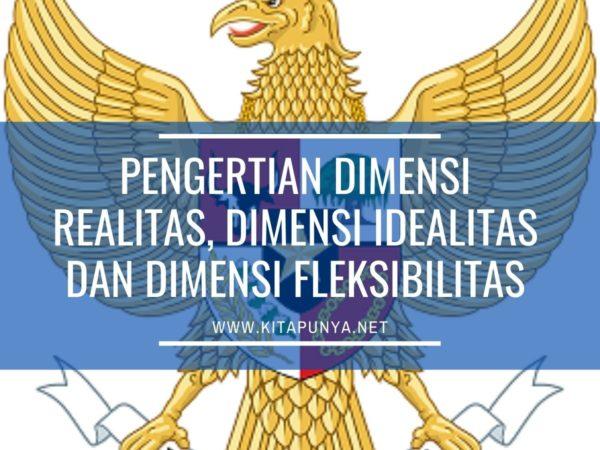 pengertian dimensi idealitas, realitas dan fleksibilitas