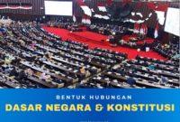 hubungan-dasar-negara dan konstitusi