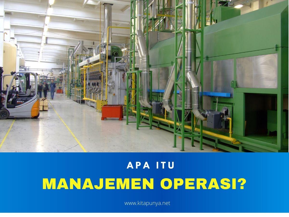 apa itu manajemen operasi