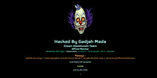 Situs KPU Yogyakarta Terkena Hack