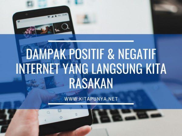 dampak positif negatif internet