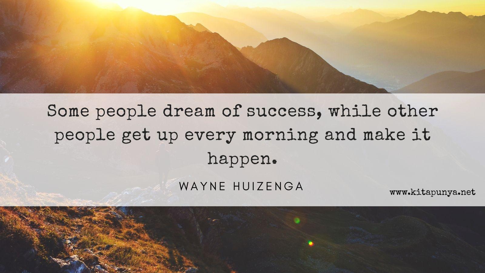 motivasi bisnis wujudkan mimpi