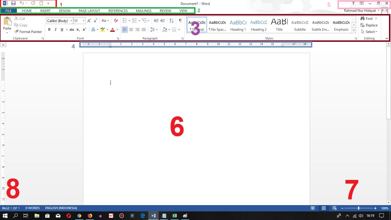 tutorial dasar microsoft word
