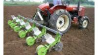 Mesin penanaman dalam pertanian