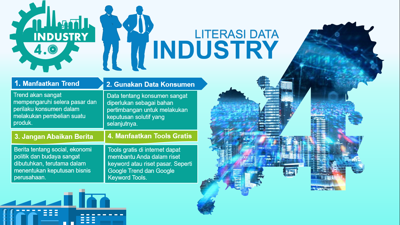 literasi data industri 4.0