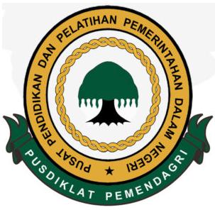 Logo Pusdiklat Pemendagri