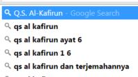 isi kandungan Q.S.Al Kafirun