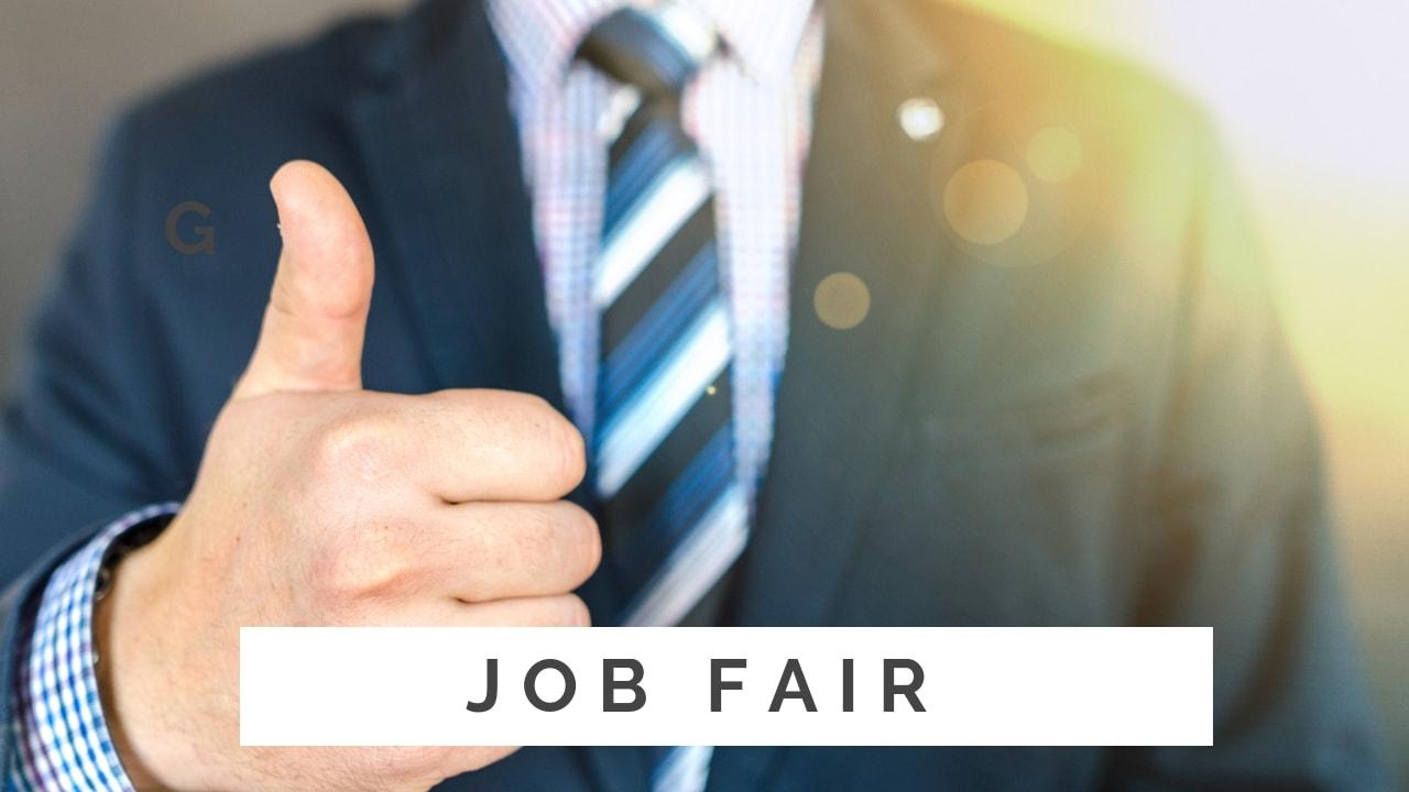 tips cepat kerja - job fair