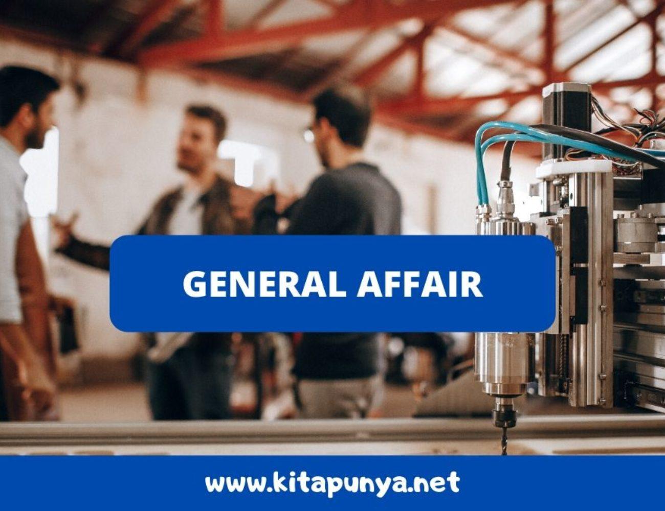 tugas general affair