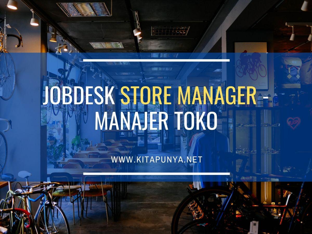 jobdesk store manager
