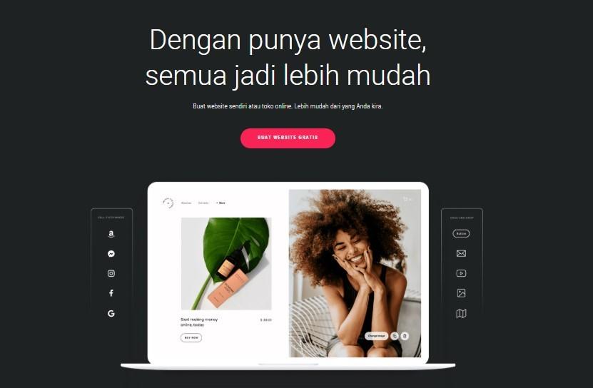 Kegunaan website builder
