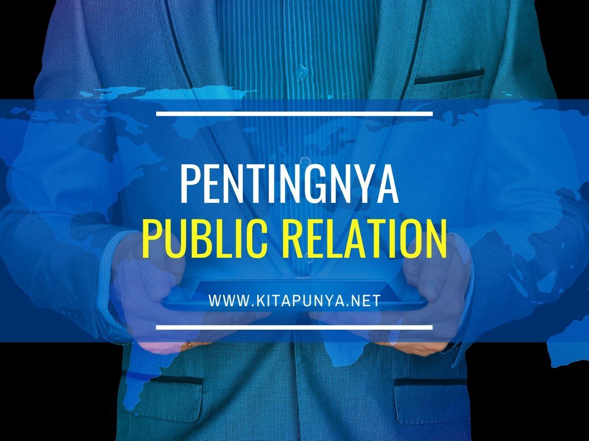 pentingnya public relation