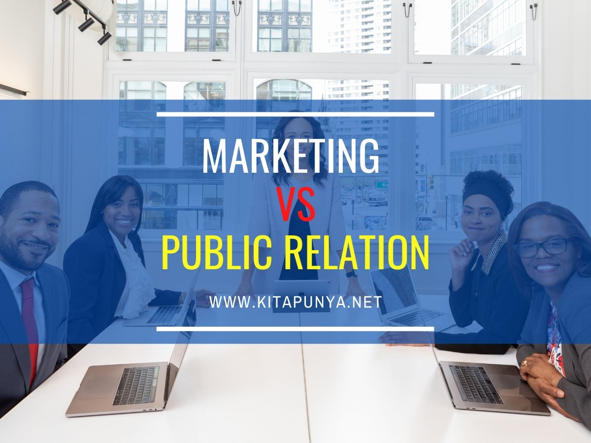 perbedaan public relation dan merketing