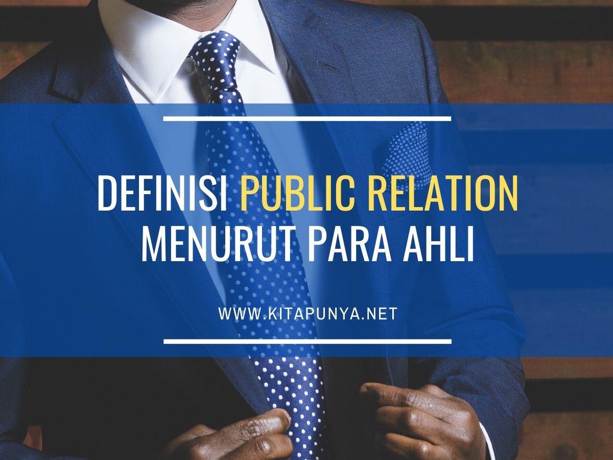definisi public relation