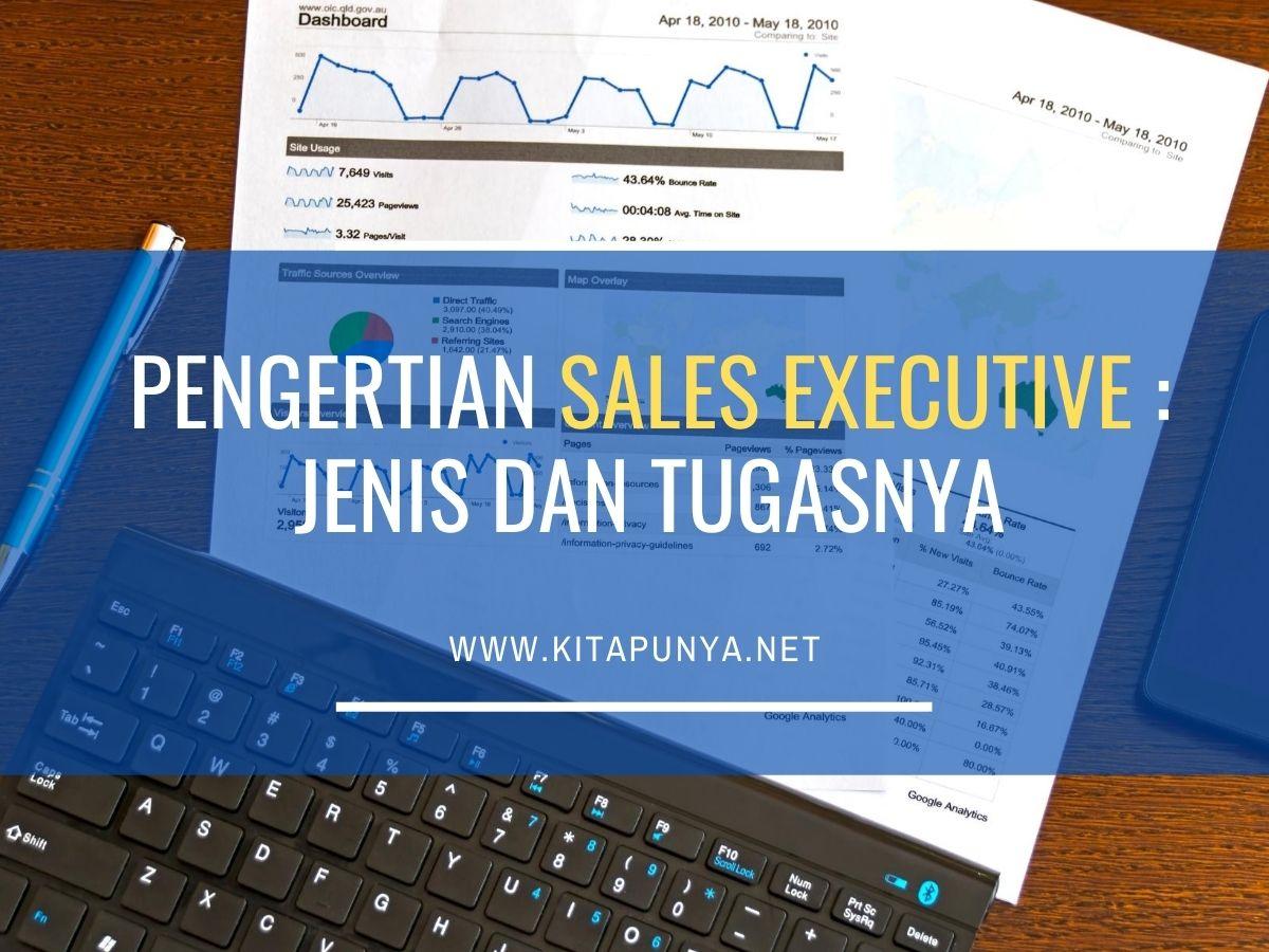 pengertian sales executive