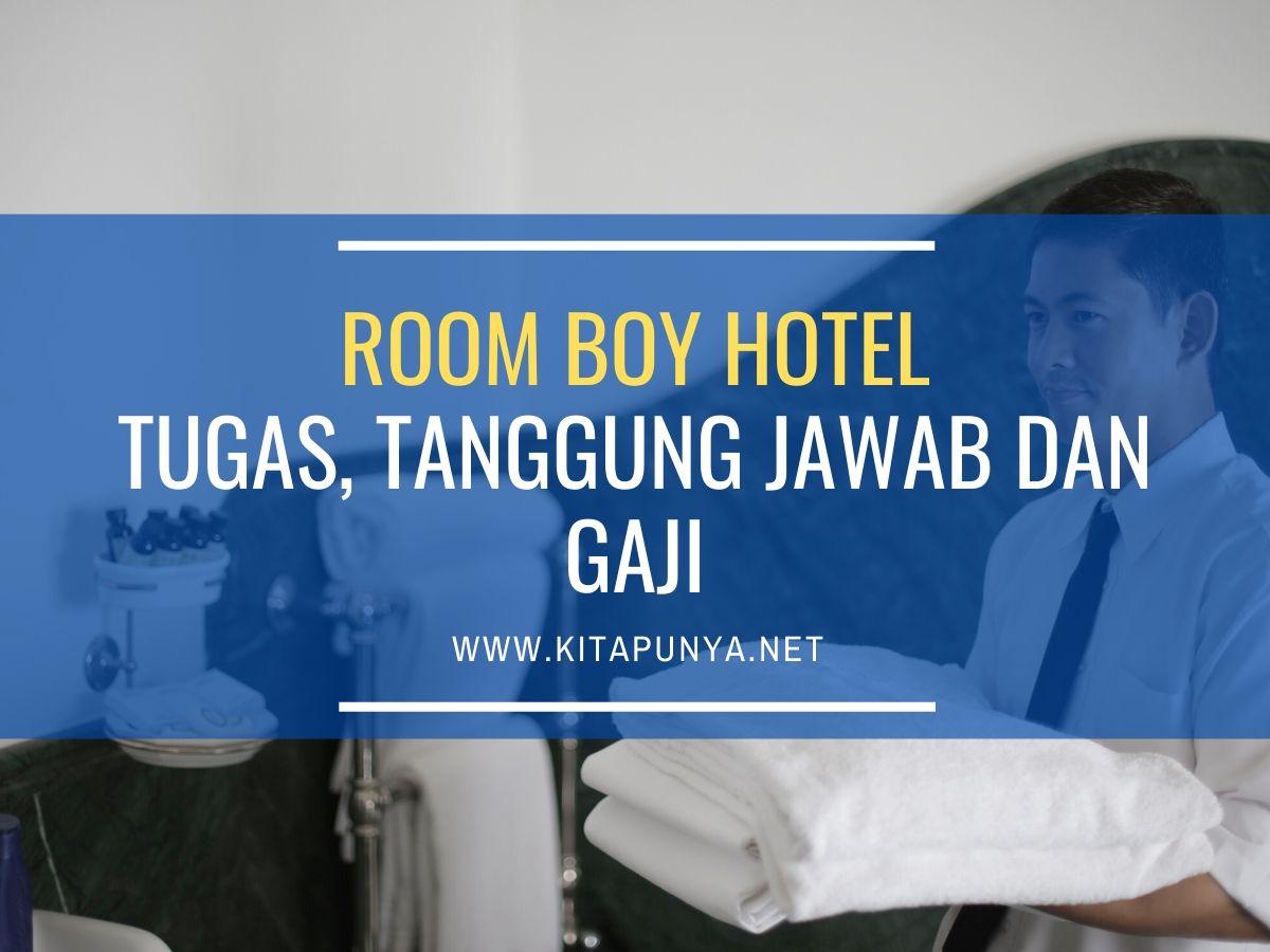 tugas room boy hotel
