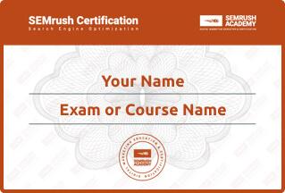 Miliki sertifikat seo specialist