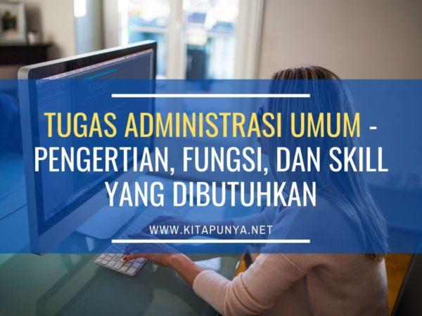 tugas administrasi umum