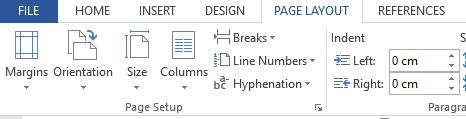 cara mengatur halaman di word