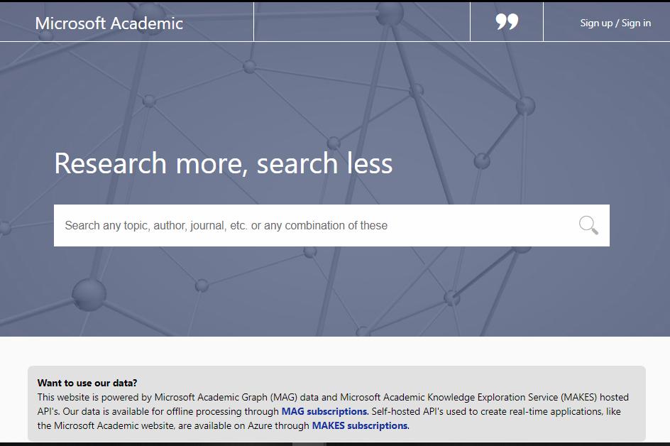 microsoft academic website mencari jurnal