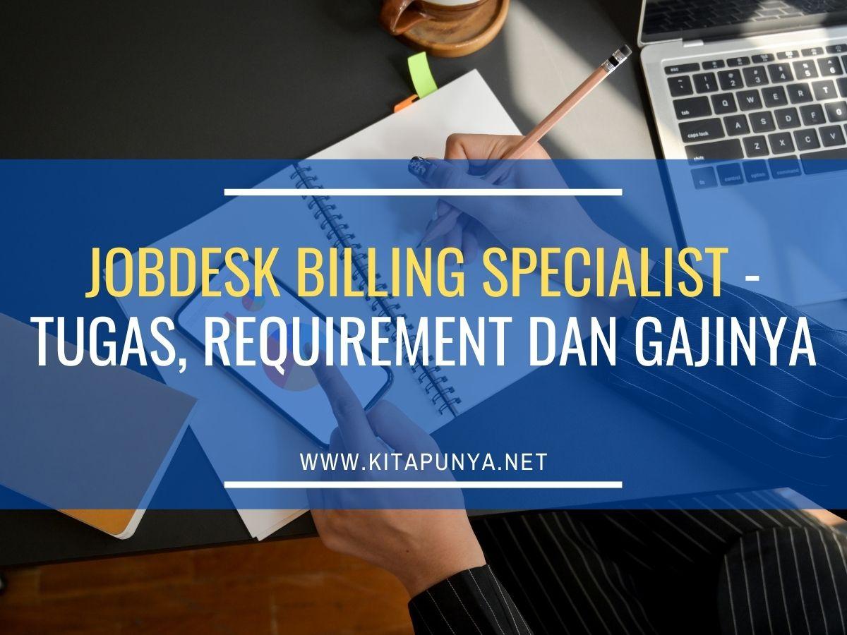 billing specialist job description