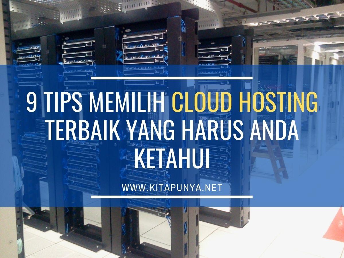 tips memilih cloud hosting