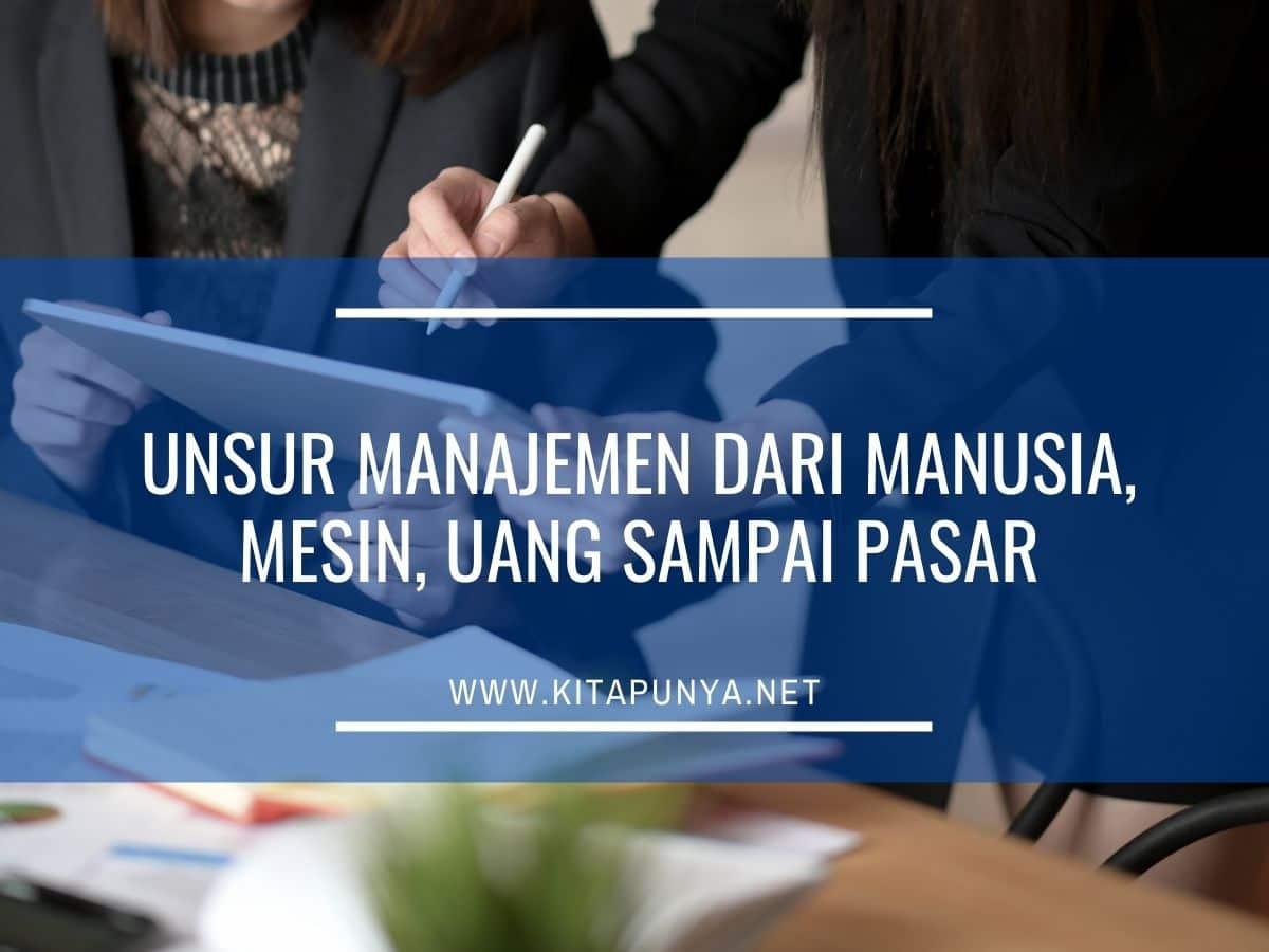 unsur unsur manajemen