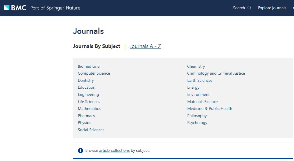 bmc journals