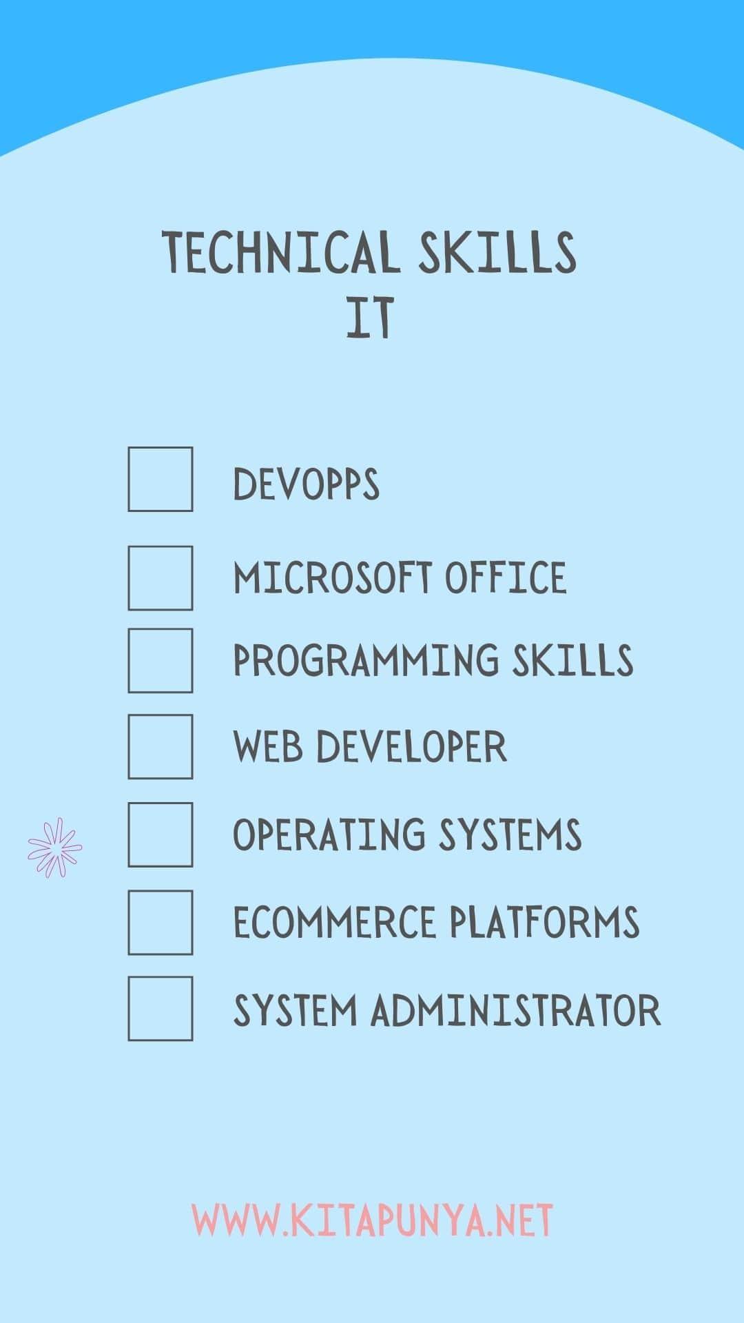 it technical skills