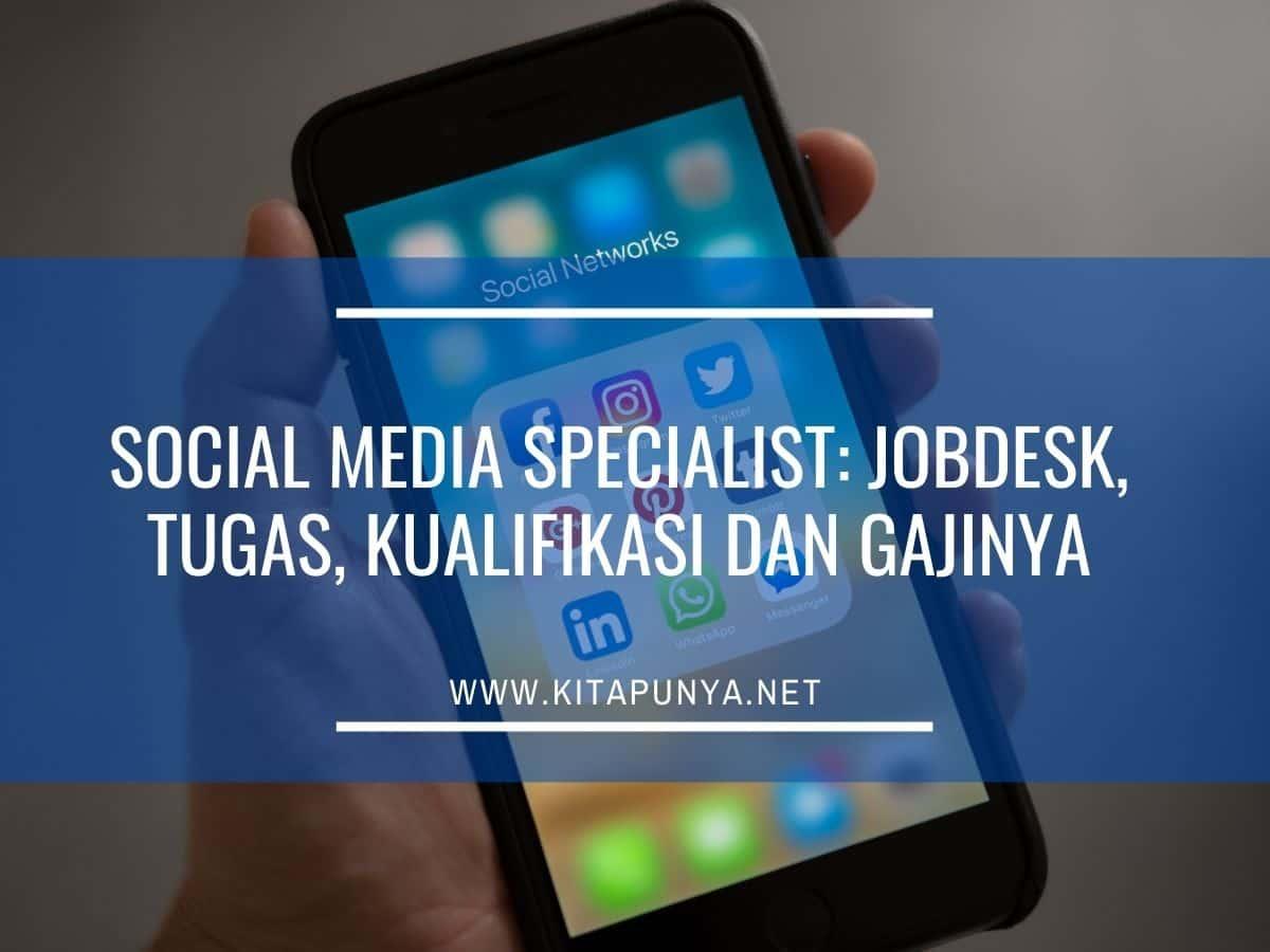 jobdesk social media specialist