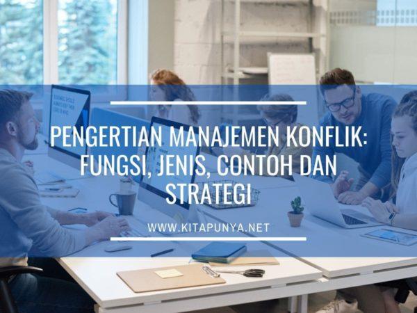 pengertian manajemen konflik