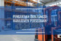 fungsi manajemen persediaan