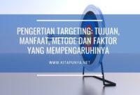 pengertian targeting